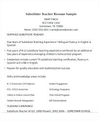 Resume Examples For Teacher Assistant Sample Resume Teacher Assistant Resume For Teaching Position