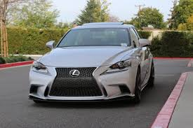 lexus is250 f sport front lip lexon exclusive x speedelement x lsc 2014 is journal lexus of