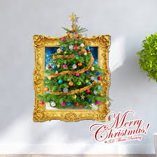 home decor wall art wall stickers 3d wall stickers home decor wall art wall stickers 3d wall stickers creative christmas 3d christmas tree wall sticker christmas holiday decor christmas gifts