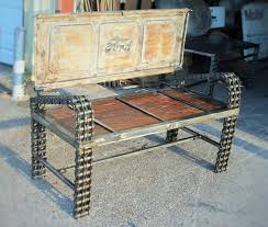 Creative Benches Recycled Car Parts Into Vintage Benches Gift Ideas Creative