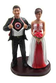 marvel cake toppers wedding cake toppers custom and personalized