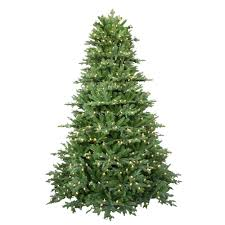 7 5 ft pre lit led royal fraser fir artificial tree