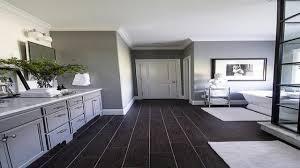 hardwood floor bathroom bathroom with dark wood floor dark wood