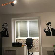 shipping banksy jules and vincent pulp fiction movie wall art free shipping banksy jules and vincent pulp fiction movie wall art decal decor mural sticker vinyl poster