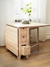 table de cuisine avec rangement designs créatifs de table pliante de cuisine archzine fr