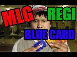 Reginald Meme - mlg parody reginald blue card youtube