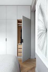 Closet Behind Bed Wardrobe Charming Bedroom With Wardrobe For Inspirations Bedroom