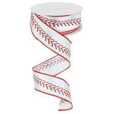 baseball ribbon baseball stitch ribbon