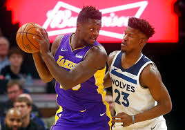 gibson butler lead timberwolves rally past lakers inquirer sports