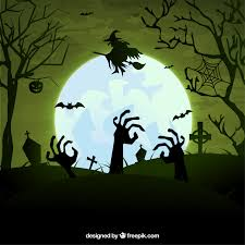 green halloween background 10 free halloween vectors freepik blog