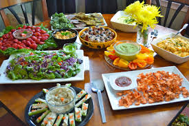 Gluten Free Buffet by Raw Foods Potluck Picnic Style Gluten Free Cat