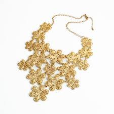 gold flowers necklace images Gold costume necklace 2015 marvellous design gold necklace hollow jpg