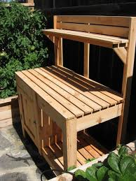 diy pallet work table garden potting table back to post pleasant garden potting bench hd