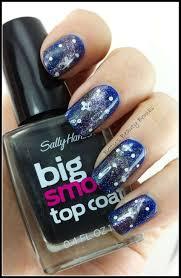galaxy nail art lazy betty