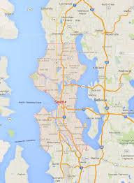 seattle map usa seattle washington map