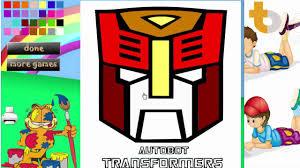 tô màu người sắt coloring pages of transformers transformers