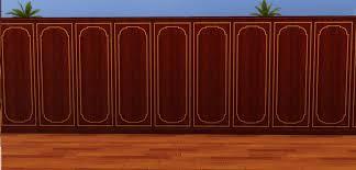 wood paneling walls mod the sims wood panel walls