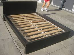 64 off ikea ikea leirvik full size bed frame beds throughout bed