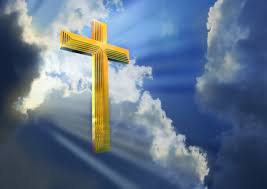 other jesus cross heaven rays lord clouds sky gold sun hd