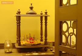 small puja room corner by kamal jain home design ideas tips