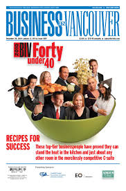 2010 forty under 40 special edition by business in vancouver media