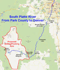 Colorado River On A Map by Don U0027t Frack Denver U0027s Water Huffpost