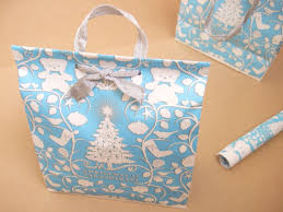 christmas wrap bags homey home design how to make gift bags out of wrapping paper diy