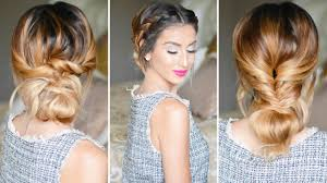3 no heat updos in 3 minutes youtube