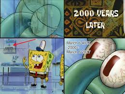 Squidward Meme - today s the day sleeping squidward know your meme
