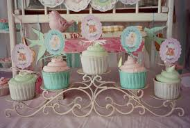 shabby chic baby shower kara s party ideas shabby chic pink and mint baby shower via