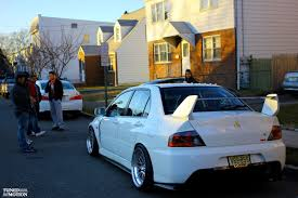 mitsubishi evo modded evo true driving