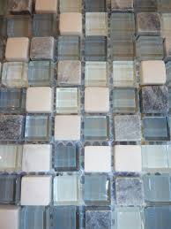 Wholesale Backsplash Tile Kitchen Wholesale Grey Stone With White Crystal Mosaic Tile Sheet Square