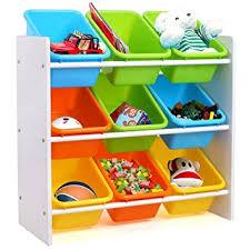 chambre jouet homfa meuble de rangement jouets etagère de jouets de 3 etages pour