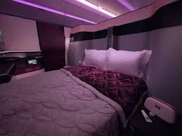 Qatar Airways Qatar Airways Unveils Beds On Flights The Independent