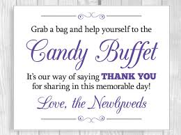 The Candy Buffet by Printable Grab A Bag And Help Yourself To The Candy Buffet 8x10