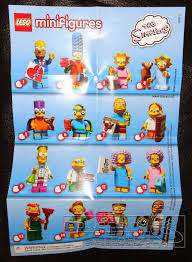 Lego Blind Packs Collecting Toyz Lego The Simpsons Series 2 Mini Figures Blind Pack