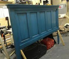 Making Headboards Out Of Old Doors by Head Board Out Of An Old Door Diy Pinterest Doors Board And