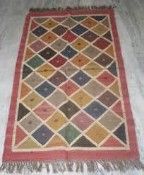 Floor 60 by Kilim Jute Rug Turkish Vintage Floor Mate Area Rug Jute Carpet 36