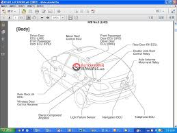 lexus rx350 330 300 mcu15 series 2000 service manual auto repair