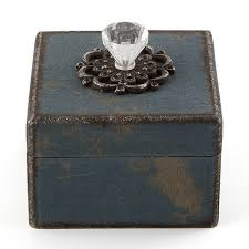distressed vintage favor boxes with handle weddingstar