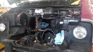 hellcat engine swap engine swap 318 to a 360 1978 dodge street van youtube