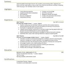How To Write A Resume For Teaching Job by Sumptuous Design Ideas Teacher Resume Template 3 Best Example Cv