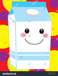 milk carton jug half gallon dairy stock vector 673208017