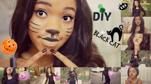 diy halloween cat costume youtube