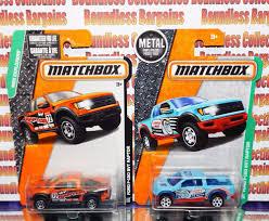 Ford Raptor Plow Truck - matchbox lot of 2 1 64 ford f 150 raptor svt mbx explorers orange