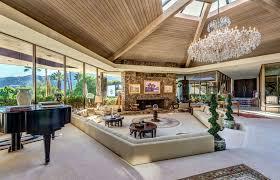 home interior redesign inspiration sunken living room in home interior redesign with