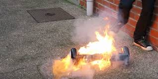 lexus hoverboard ebay watch a hoverboard go up in flames in this scary video