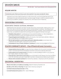 resume with picture sample resume samples ace resume resume writer sharon
