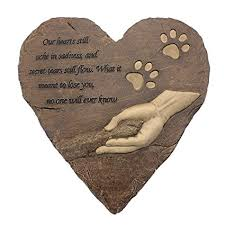 pet memorial garden stones pet memorial stones engraved memorial small heart