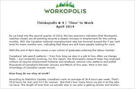 Resumes Of People Looking For Jobs by Workopolis Research About